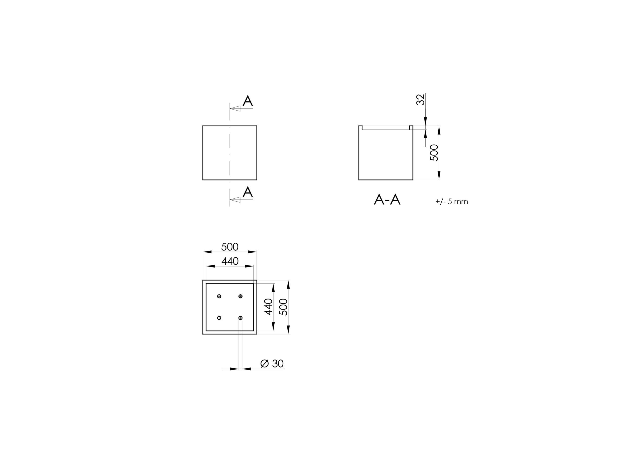Cubi 1 -Technisches Zeichnen