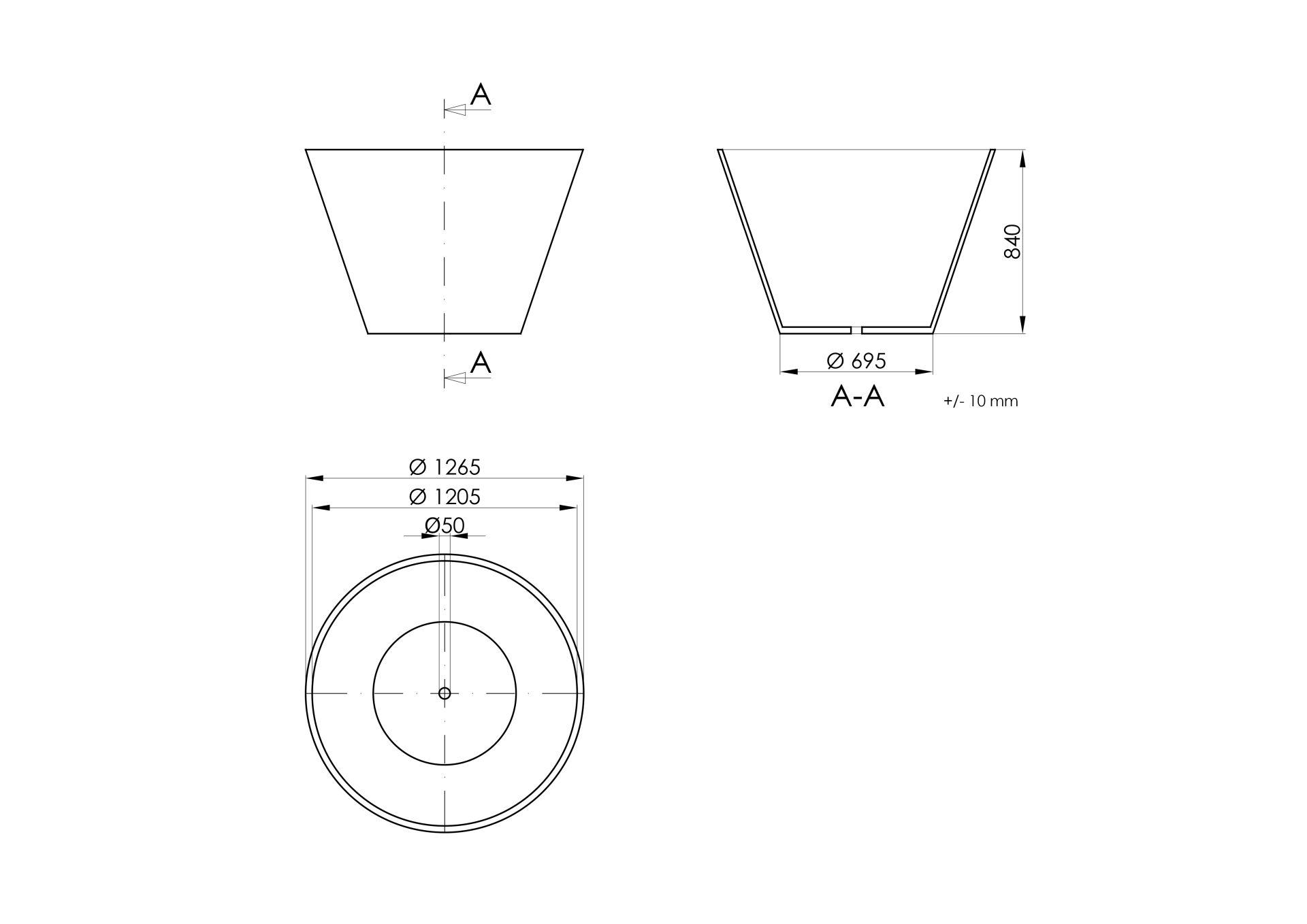 Pietro - Technisches Zeichn