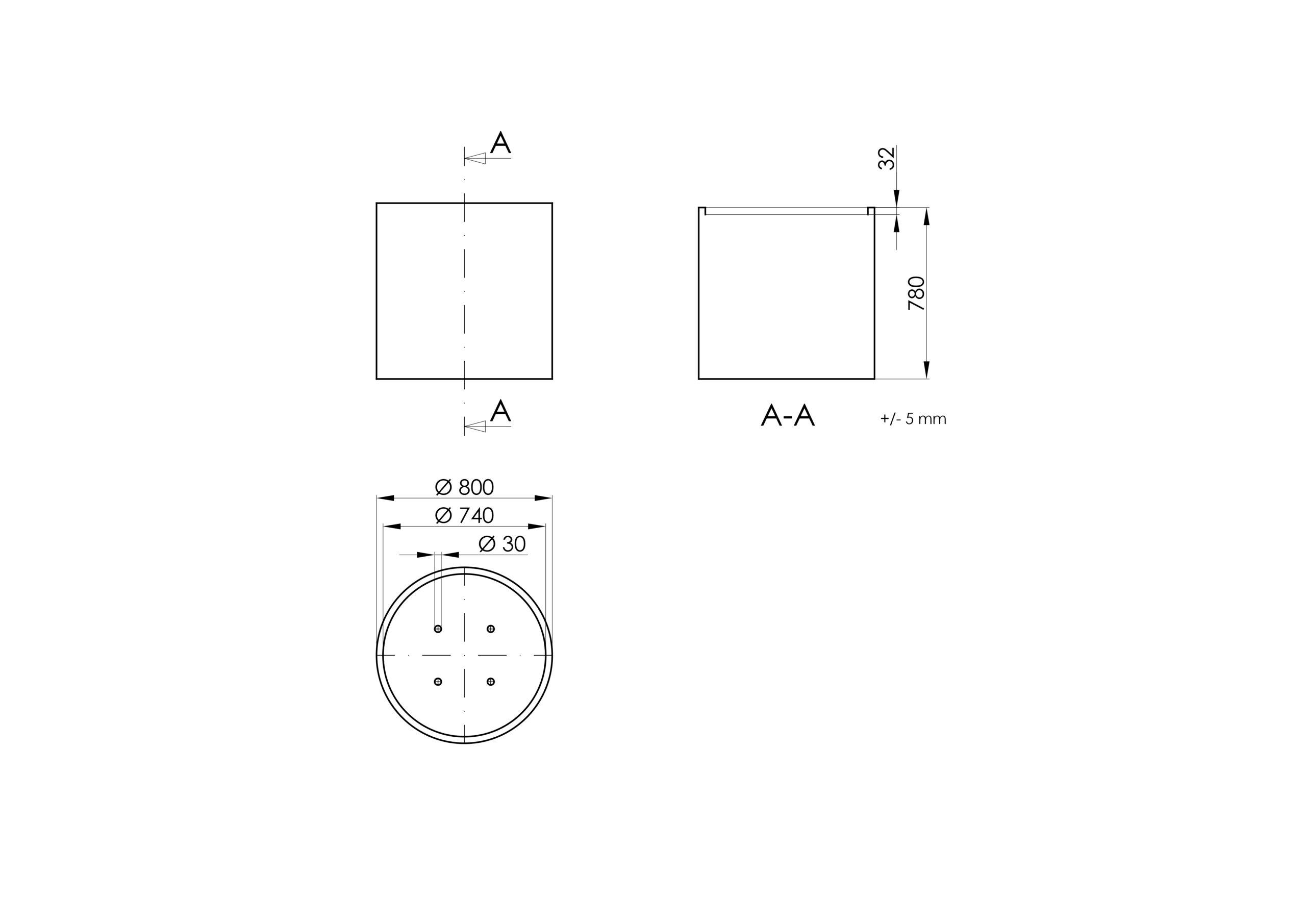 Vaso 2 -Technisches Zeichnen