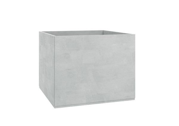 Pflanzkübel aus beton groß Model Adamo grau