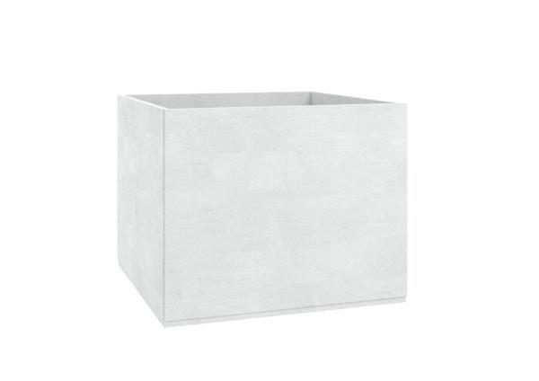 Pflanzkübel aus beton groß Model Adamo weiss