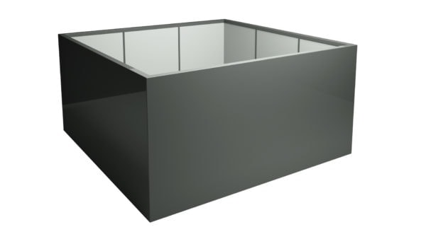 Pflanzkübel aus Fiberglas gross für aussen Model Marco 9
