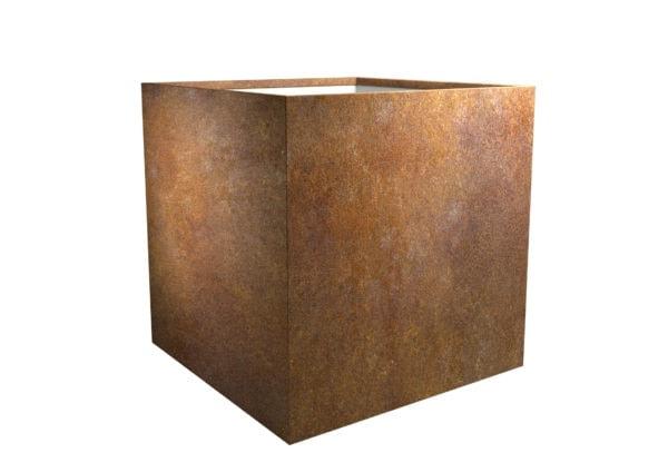 Pflanzkübel aus cortenstahl Model Cube 5