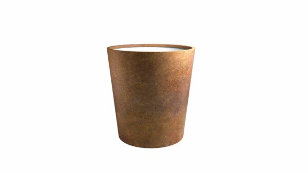 pflanztrog aus cortenstahl model vaso 6
