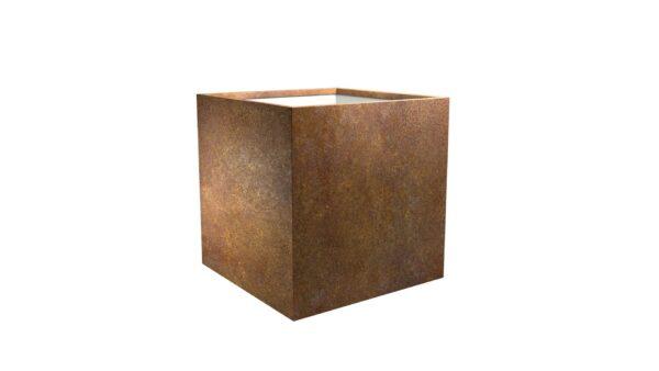 pflanztrog aus cortenstahl model Cubi 4