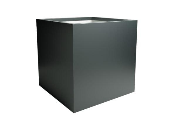 Pflanzkübel aus aluminium wetterfeste Model Alessio 6