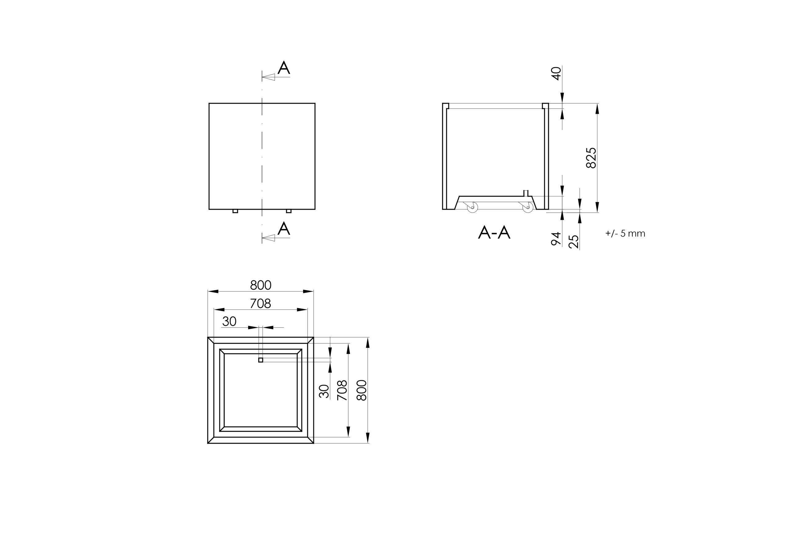 Paolo Mobile -Technisches Zeichnen