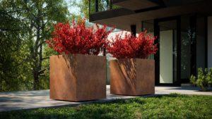 pflanzkübel mit rollen sind ideal für den aussenbereich