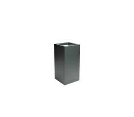 blumenkübel aus aluminium