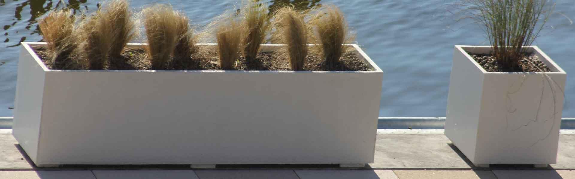 pflanzkübel aus beton 200cm x 50cm x 50cm+ 50cm x 50cm x 50cm